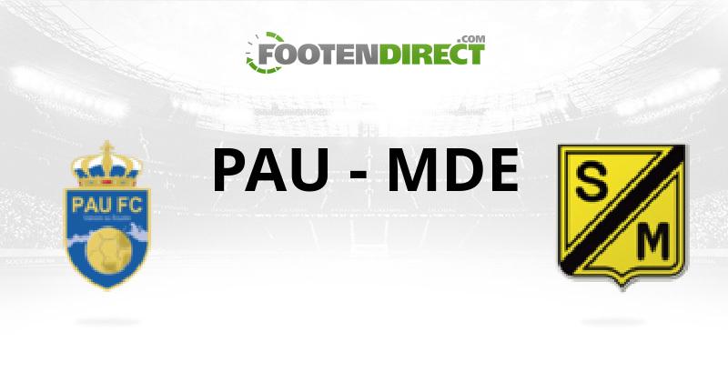 match pau mont de marsan en direct le 9 avril 2016 224 19 00 cfa grp c